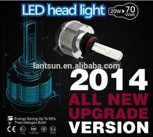 automotive led headlight kit spot beam H4 H7 H8 H9 H10 H11 9005 and 9006 LED