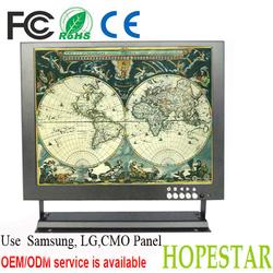 12 inches RCA / BNC monitor cctv monitor
