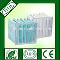 bolsa de filtro de aire para la filtración de la industria