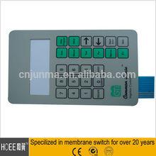 Home Appliance Waterproof Backlight Numeric Keypad Function Keys