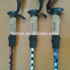 Aluminum 7075 nordic walking poles with EVA CORK grip