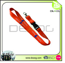 polyester lanyard / high quality promotional item