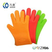 silicone 5 finger tips gloves