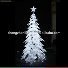 Led Icicle Acrylic Christmas Cone Tree