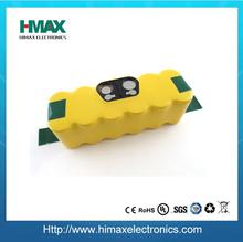 Nimh 14.4v 3300 mah ricaricabile sc aspirapolvere batteria più pulito