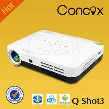 Led projector hd projector HDMI&1080p&USB &TV mini portable projector Concox Q shot3