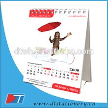 2013 calendar ,2014 desk spiral binding wall calendar
