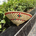 agricultor chapéu de bambu grosso