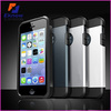 PC+PU Hybrid Body Armor Case For iphone 5 5s