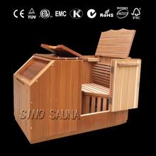 Far infrared half body sauna room with CE/ETL/TUV/KTC certificate