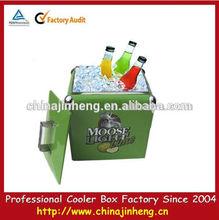 Green budweiser cooler in green