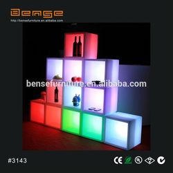 LED light up beer/wine show case LED display box