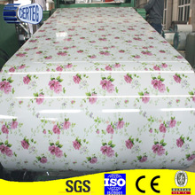hot selling printed ppgi, ppgl coils,prepainting galvanized steel coil sheet for roof
