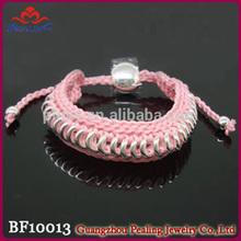 Hot selling girls macrame friendship bracelets
