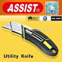 Assist multifunction safety zinc alloy utility knife