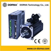 80mm flange size 380V 0.75KW (3000rpm) AC 3 phase servo drive and servo motor