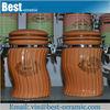 spice storage bulk wholesale ceramic jar set