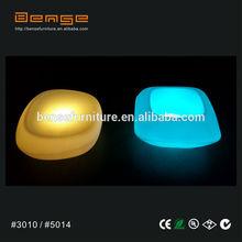 LED plastic Barware led ice cube bucket/cooler/holder