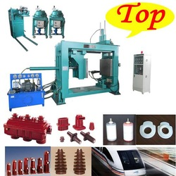 China Factory made high voltage tranformer bushing insulator heating press molding machine APG1210