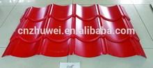 PPGI Steel Roofing Glazed Tiles YX25-207-828