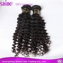 Distributor 5a remy virgin deep wave brazilian tresses hair