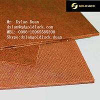 Cheap 2mm decorative plain hardboard Insulation for sale