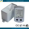 Wireless rain meter gauge with indoor temperature