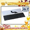 Venta al por mayor de Alibaba de China suppiler teclado del ordenador portátil para toshiba satellite c650 c655
