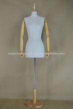 Antique Fiberglass Female Model,Female Torso for Dressmaker