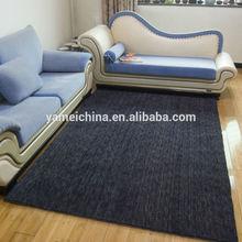 AA Grade fashion dark blue/navy blue wool Carpet & tufted wool carpet
