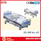 4 function manual antique iron hospital beds