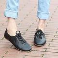 Zapatos Planos Casuales Para Mujeres y Chicas de Cuero Auténtico, Zapatos Planos Para Mujeres Maduras de Cuero Original, Zapatos de Mujer de Cuero Italiano Auténtico
