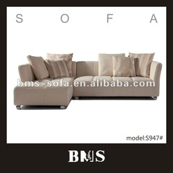 Comfortable leisure Top design sofa set linen sofa cloth indoor furniture
