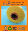 100% recycelter baumwolle garn/niedrigen preis recycling regeneriert 70/30 safran gelb open end/oe recyceln baumwollgarn für glovesfor fabr.