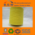 100% recycelter baumwolle garn/niedrigen preis recycling regeneriert 70/30 5s safran gelb open end/oe recyceln baumwollgarn für glovesfor f