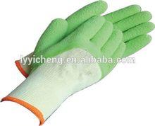 latex coated work glove/mitten