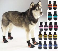 2014 Professional comfortable slip-resistant cut-resistant dog boots