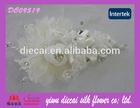 Handmade Fabric Beaded Flower Wedding Accessories