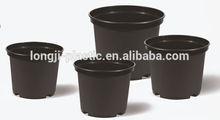 12L gallonblack plastic nursery pots/plastic flower pots