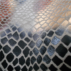 Serpentine suede for sofa fabric , car cover , cushion upholsterty