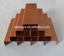 Manufacturing! Pneumatic staples of all sizes Carton fastening nails staple pin wire