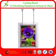 Single Side Custom Led Crystal Acrylic Light Box Advertising Signs