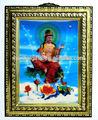 Personalizado 3d em relevo pvc moldura de cartaz/personalizado pvc 3d lenticular da bolha em relevo moldura religiosa