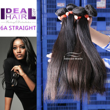 Competive price best quality top grade human unprocessed hair, straight virgin remy peruvian hair weave