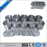 99.9% pure titanium crucible