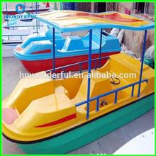[ Wonerful rides! ] Nouvelle conception équipements de jeux d'eau pédalo. Paddle bateau utilisé dans la rivière et mer
