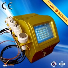 Top quality CE TUV certificate 5 in 1 cavitation training for weight loss and body shape