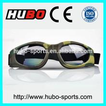 High impact protection eyewear anti wind/anti sand/anti UV military goggles