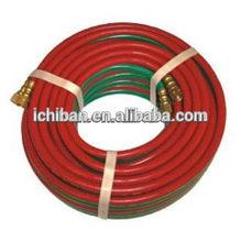 OEM Best Quality Twin Line Welding Gas Flexible Hoses Oxygen / acetylene twin line welding hose