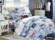 egyption cotton sheets KOSMOS-100%cotton printed bed sheet nantong popular bedding sets